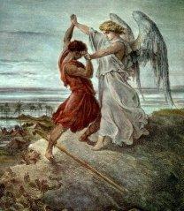 jaco luta com o anjo