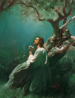 Jesus Orando no Getsemani